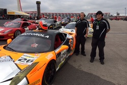 Auto Gallery Motorsports Technicians Donnie Cameron & Dave Cortes