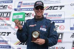 Race winner & USTCC 2013 Champion Brad McClure