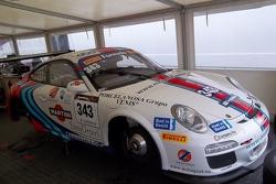 Porsche in the paddock