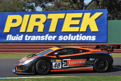 Sandown top qualifier David Russell/Justin McMillan Interlloy Gallardo FL2 GT3