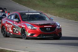 SkyActiv Mazda (#70) on Track