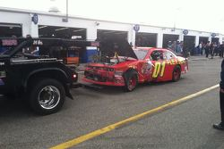 Landon Cassill - Qualifying wreck