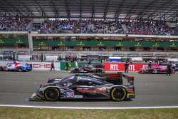 ESM Patron #30 and #31 minutes before the start of the 24 Hours of Le Mans