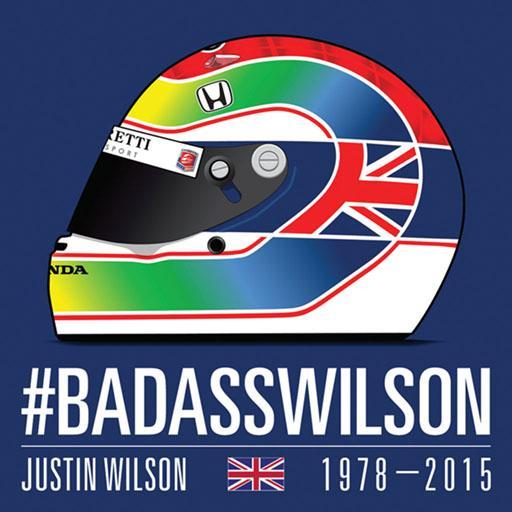 Justin Wilson decal