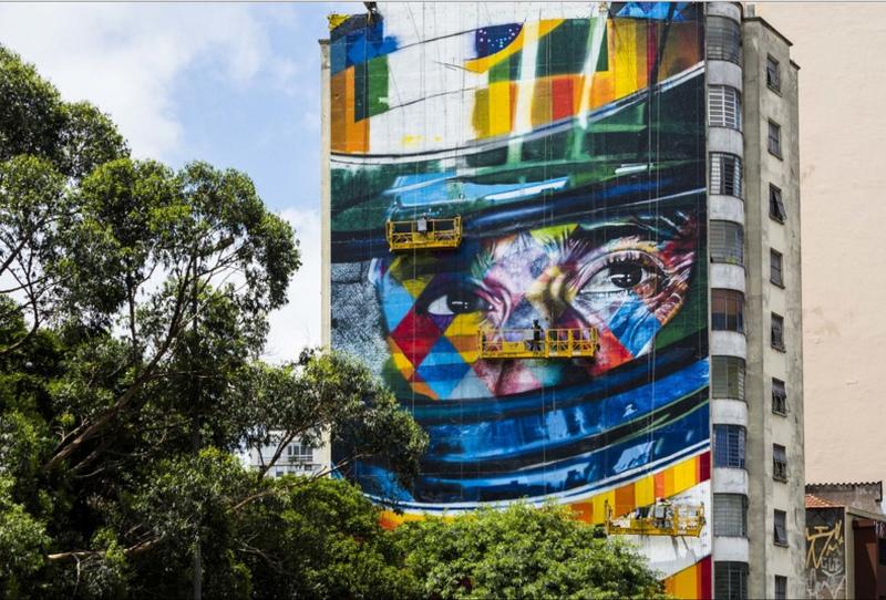 Mural Ayrton Senna