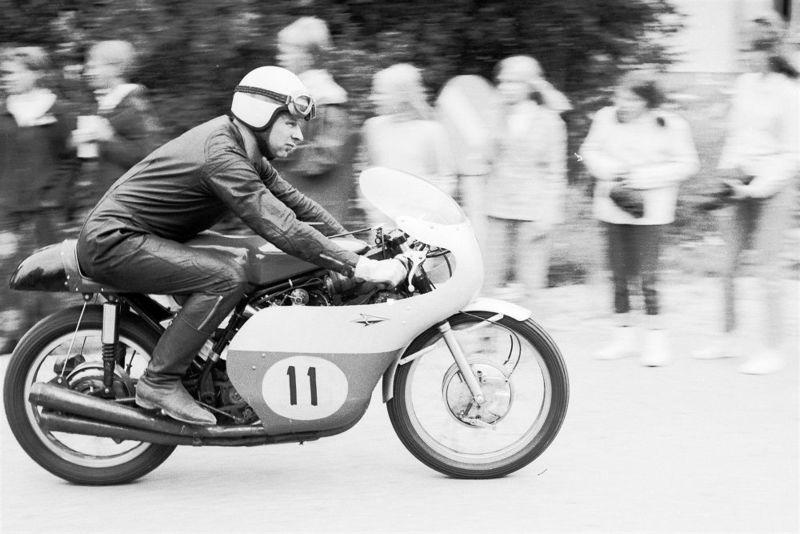 Эндель Кийса на Гран При Финляндии 1968 года