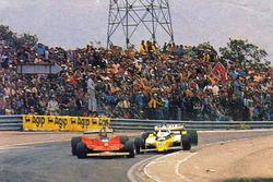 Gilles Villeneuve et René Arnoux à Dijon