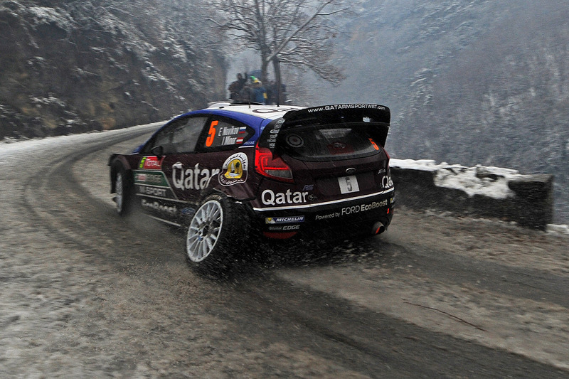 2013 год. Евгений Новиков и Илка Майнор, Ford Fiesta RS WRC