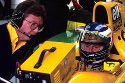Росс Браун и Михаэль Шумахер, Benetton