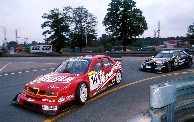 Джанкарло Физикелла, Alfa Romeo 155 V6 Ti, Норисринг-1996