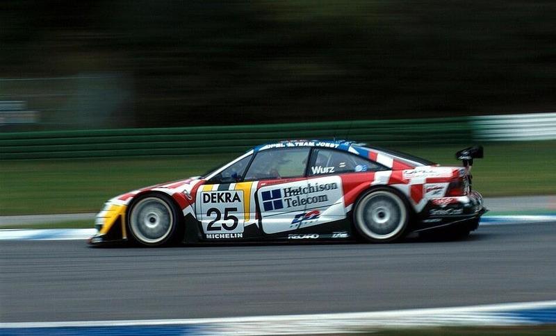 Алекс Вурц, Opel Calibra V6 4x4, Хоккенхайм-1996