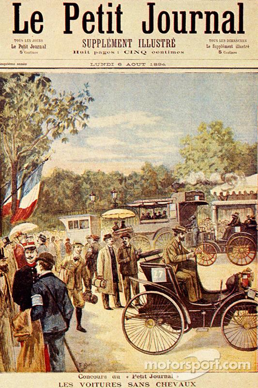 Primeira corrida da história: Paris-Rouen