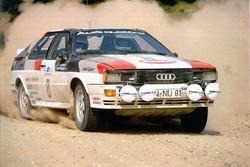 Ханну Миккола и Арне Херц, Audi Quattro, Ралли Акрополис 1981 года