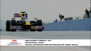 Formula 1 2011 - Red Bull Racing - Interview with Sebatian Vettel after the Silverston GP