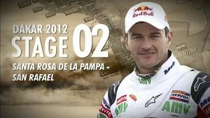 Dakar 2012 - Marc Coma -  Stage 2