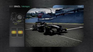 2011 Formula 1 Brazilian GP - 3D Simulation