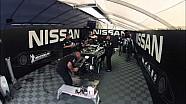 Nissan DeltaWing - Road Atlanta Repair Time Lapse