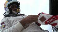 Nasser Al Attiyah after Leg I of Dubai Rally