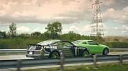 2nd Shift Drift - Vaughn Gittin Jr. Drifting the Ford Mustang Factory