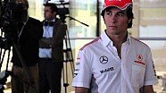 Behind the scenes with Checo