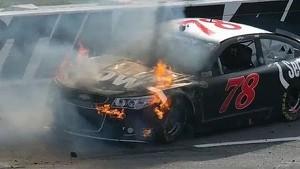 NASCAR Martinsville extended race highlights