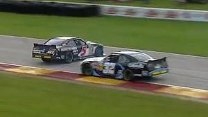 Kyle Larson Avoids Disaster | Johnsonville Sausage 200, Road America 2013