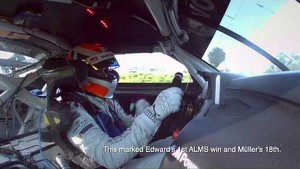 2013 Lime Rock - In Car Winning BMW - ALMS - Tequila Patron - ESPN - Racing - Sports Cars