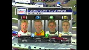 2004 Mosport Race Broadcast - ALMS - Tequila Patron - ESPN - Sports Cars - Racing