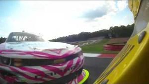 NASCAR Regan Smith spins out   Mid-Ohio (2013)