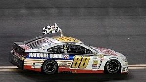 Dale Earnhardt Jr. wins the Daytona 500