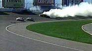 2003 UAW-Daimler Chrysler 400 at Las Vegas Motor Speedway-- Multi-car crash.