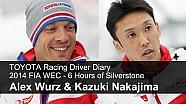 TOYOTA Racing Driver Diary - Alex Wurz & Kazuki Nakajima, FIA WEC Silverstone 2014