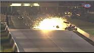 Antron Brown Escapes Uninjured After Horrific Crash