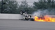 Danny Ongais' Tremendous 1981 Crash *Live*