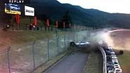 Vicious Super GT crash