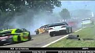 Violent crash sends car through Armco - 2014 Watkins Glen