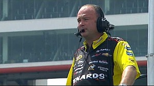 Labbe's notes fly off of Menard's car