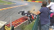 Radical big crash Spa 06 sep 2014