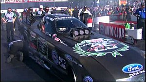 John Force wins 15th title in last race dramatic fashion