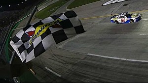 Late-race pass leads Gaughan to victory