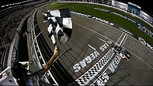 Erik Jones holds off teammate for the win