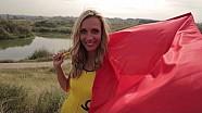 DTM Zandvoort 2014 - Grips Girl Racing Flags