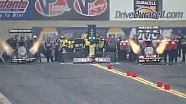 Kalitta races to No. 1 and B. Force No. 2 in Reading | NHRA