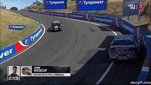 Jamie Whincup qualifying crash - 2014 Bathurst 1000