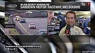 V8 Supercars Sandown 2014 Reynolds Funny Garage Interview