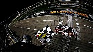 Johnson holds off Harvick, Kes for victory