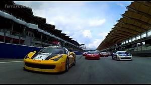 Ferrari Challenge APAC: Prette and Tjiptobiantoro win in Race 1 at Sepang