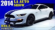2014 LA Auto Show Day 2, Ford Shelby Mustang GT350, Porsche 911 GTS - Fast Lane Daily