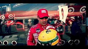Senna Helmet Auction: Tony Kanaan