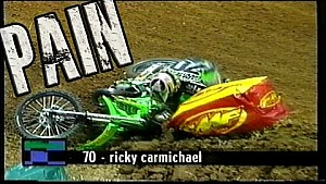 Flashback to Motocross & Supercross Crashes of the 90's with the full PAIN movie
